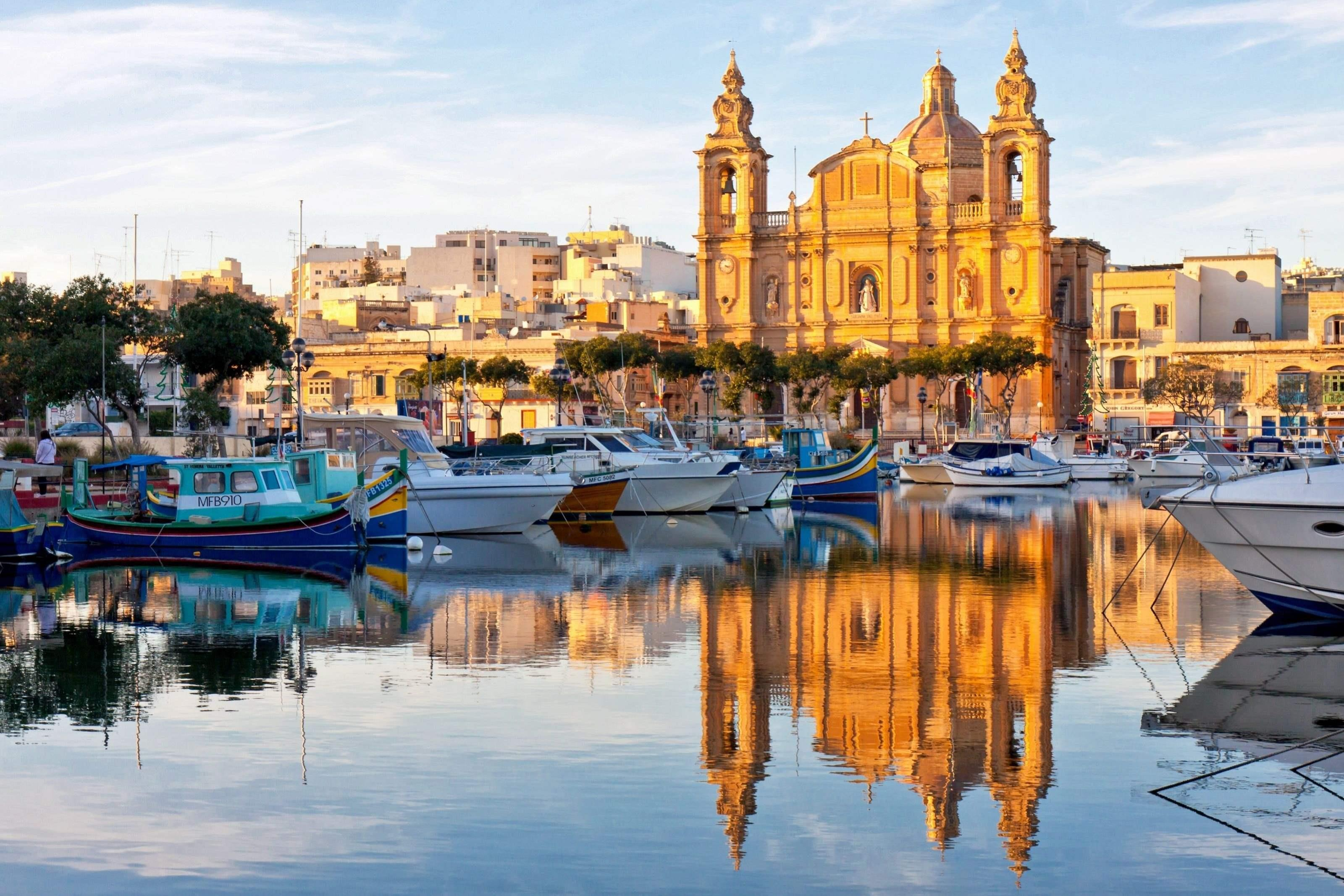 Потягом до Мальта
