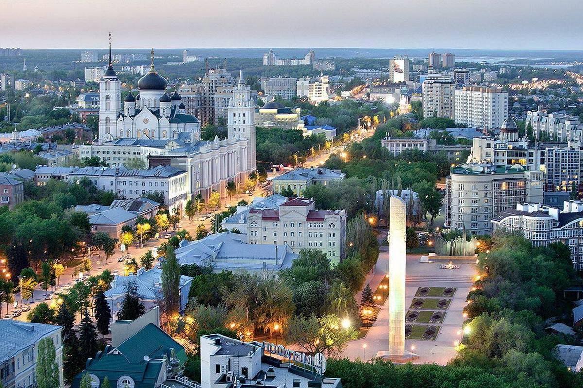 Вороніж - центр Росії