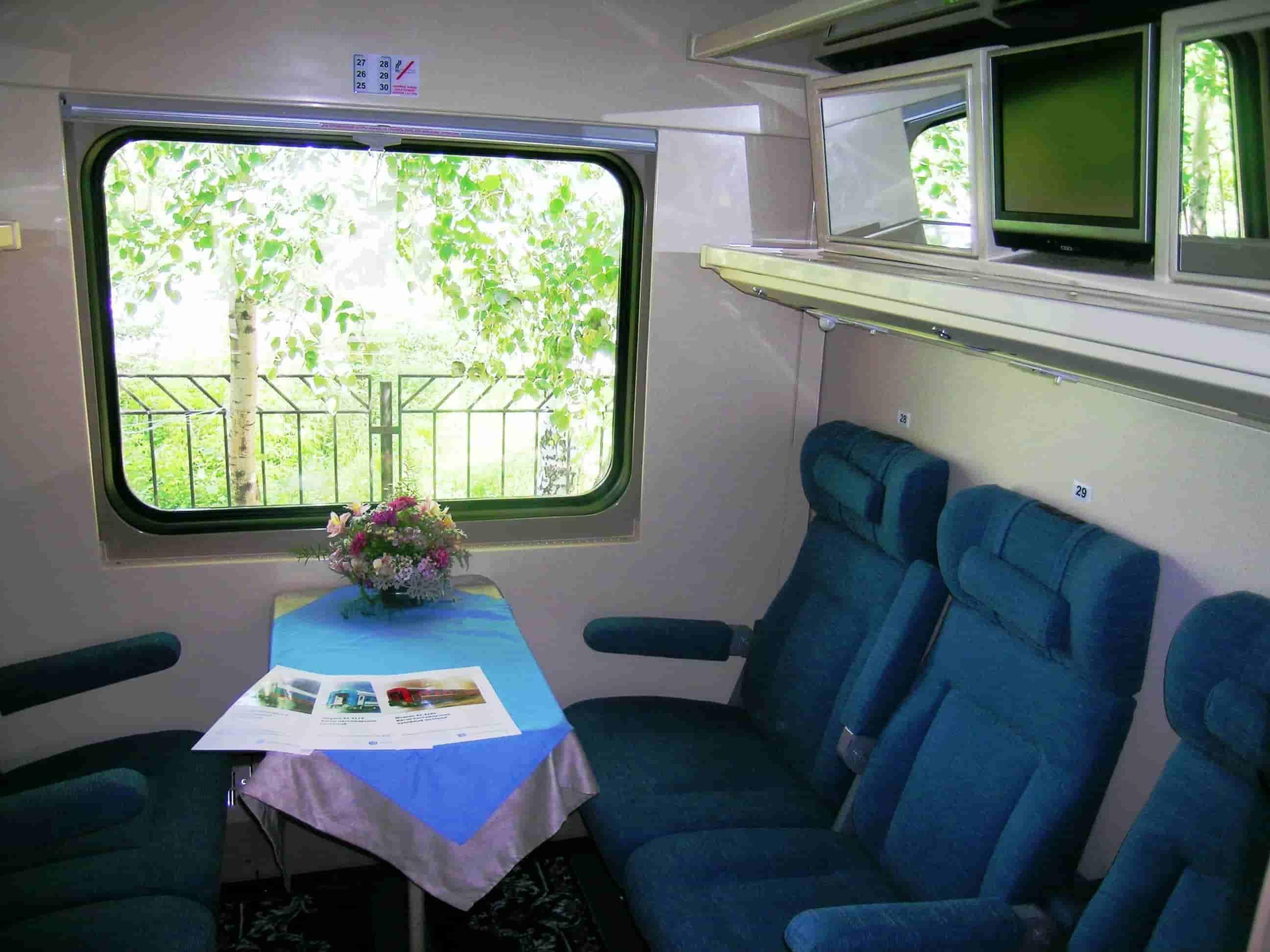 Укрзалізниця отримала вагони підвищеної комфортності від Крюківського заводу