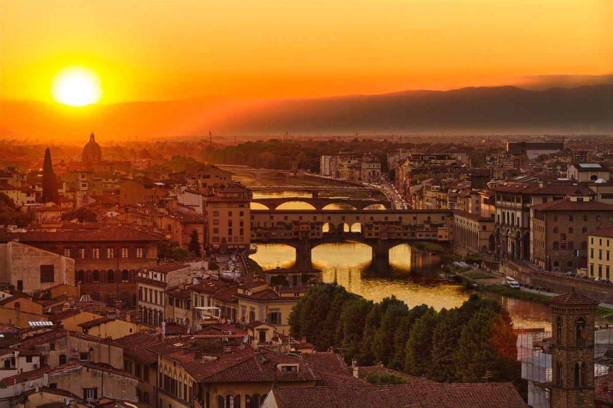 Дивовижне і романтичне місто Флоренція