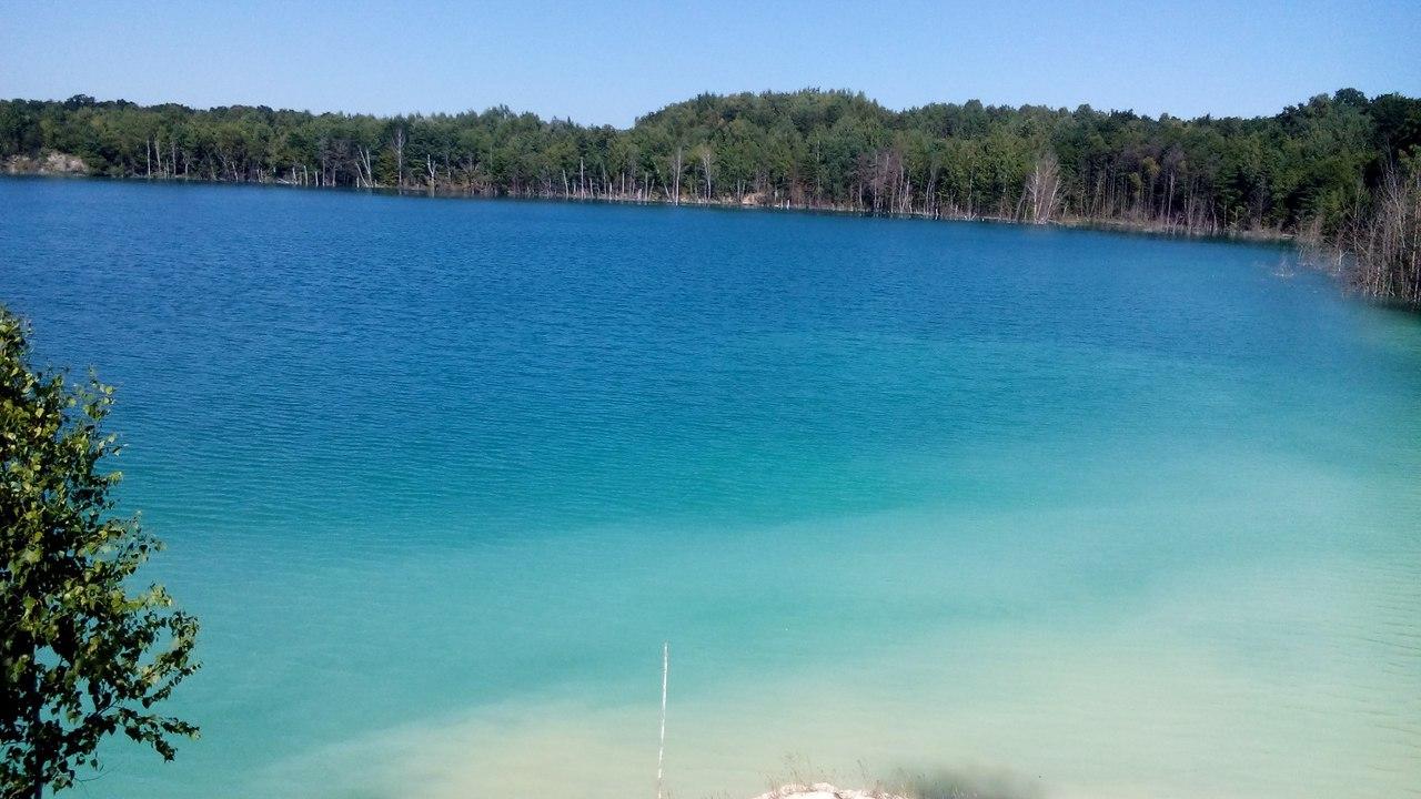 Найчистіші кар'єри та озера України