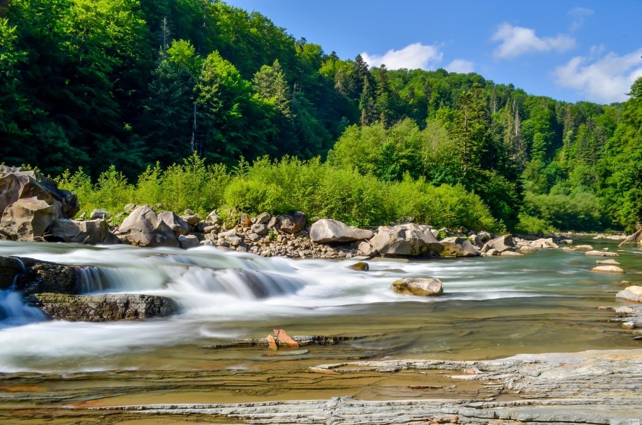Гірські річки, які підходять для рафтингу